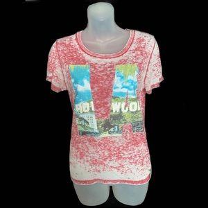 Buffalo David Bitton Hollywood Acid Wash T-Shirt